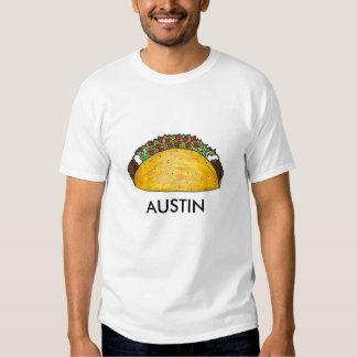 Austin, Texas Hard Shell Taco Tacos Foodie Tee
