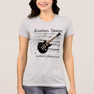 Austin Texas Muscial playground T-shirt