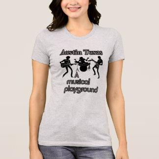 Austin Texas --Musical playground Tee Shirt
