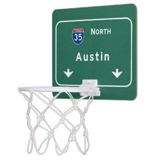 Austin Texas tx Interstate Highway Freeway Road : Mini Basketball Hoop