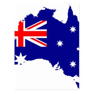Australia Australia Day Borders Collection Country Postcard