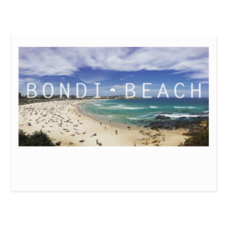 Australia Bondi Beach Postcard