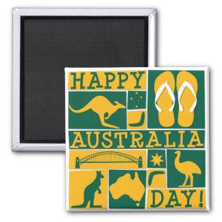 Australia Day Magnet