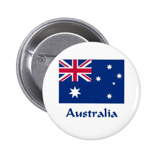 Australia Flag 6 Cm Round Badge