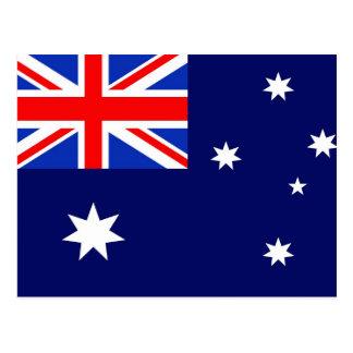 Australia Flag Postcard