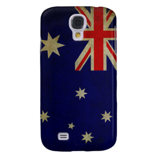Australia Flag Vintage Grunge Galaxy S4 Case