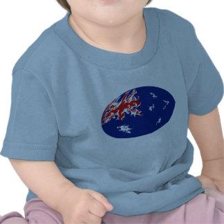 Australia Gnarly Flag T-Shirt