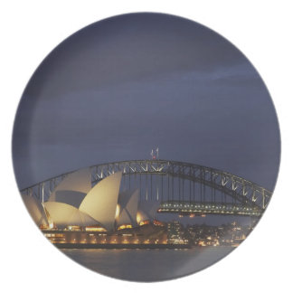 Australia, New South Wales, Sydney, Sydney Opera 3 Plate