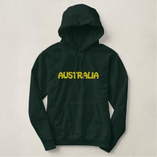 AUSTRALIA Patriotic Embroidered Designer Hoodie