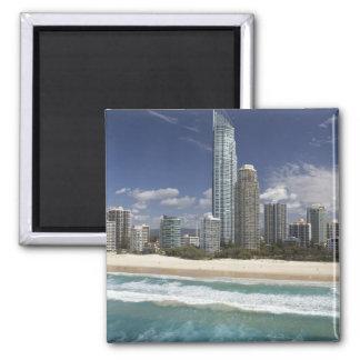 Australia, Queensland, Gold Coast, Surfers Square Magnet