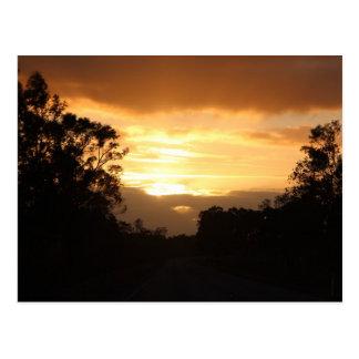 Australia Sunrise Postcard
