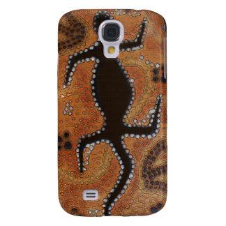 Australian Aboriginal Desert Wildlife Art Galaxy S4 Case