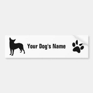 Australian Cattle Dog オーストラリアン・キャトル・ドッグ Bumper Sticker
