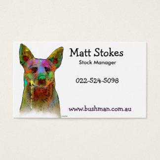Australian Cattle Dogs Business Card