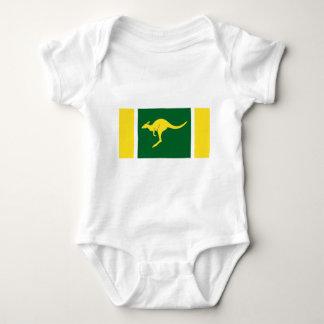 Australian Flag Baby Bodysuit