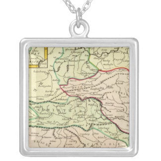 Austria and Slovenia Silver Plated Necklace
