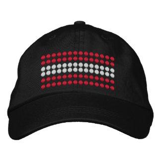 Austria Flag Embroidered Hat