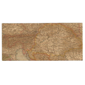 Austria Hungary 2 Wood USB 2.0 Flash Drive