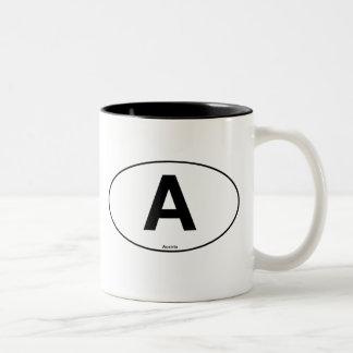Austria Oval Two-Tone Coffee Mug