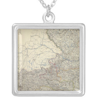 Austria W Silver Plated Necklace
