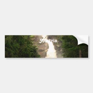 Austria Waterfall Bumper Stickers