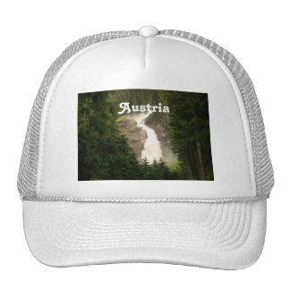 Austria Waterfall Trucker Hats