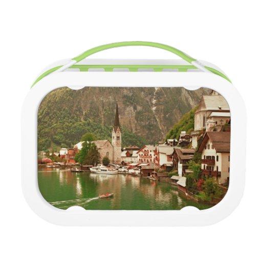 Austrian lakeside village of Hallstatt Yubo Lunchboxes
