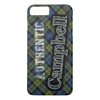 Authentic Campbell Scottish Tartan Design iPhone 8 Plus/7 Plus Case