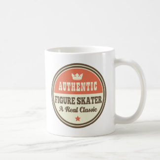 Authentic Figure Skater Vintage Gift Idea Coffee Mugs