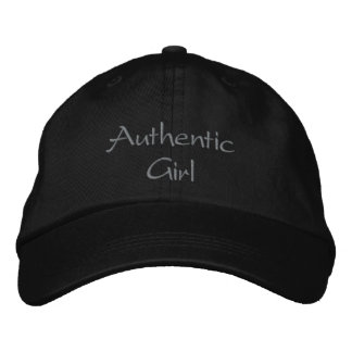 Authentic Girl Embroidered Cap / Hat