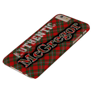 Authentic McGregor Scottish Tartan Design Case