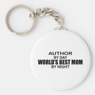 Author - World's Best Mom Key Ring