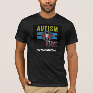 'Autism A Kids' Mens Basic American Apparel Tee* T-Shirt