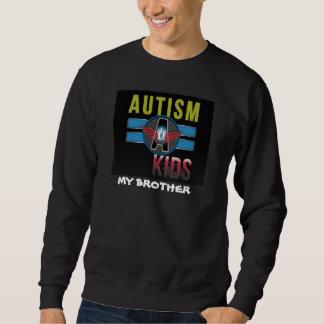 'Autism A Kids' Mens Basic Sweatshirt brother*