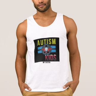 'Autism A Kids' Men's Ultra Cotton Tank Top*