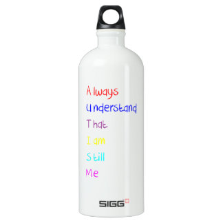 Autism Acrostic Poem Crayon SIGG Traveller 1.0L Water Bottle