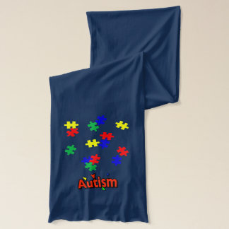 Autism American Apparel Sheer Jersey Scarf