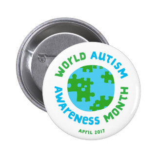 Autism Awareness 2017! 6 Cm Round Badge