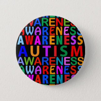 Autism Awareness 6 Cm Round Badge