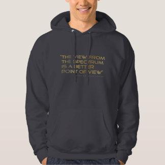 Autism Awareness Avenger Spectrum FRONT Hooded Sweatshirt