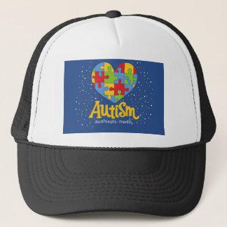 autism awareness month trucker hat