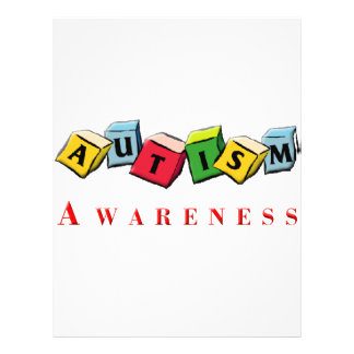 Autism Awaress 21.5 Cm X 28 Cm Flyer