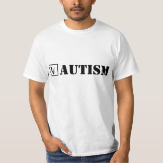 Autism; Cheque! T-Shirt