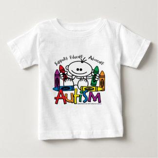 Autism Crayons Baby T-Shirt