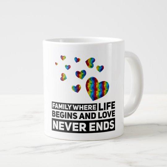 Autism Family -  Mug