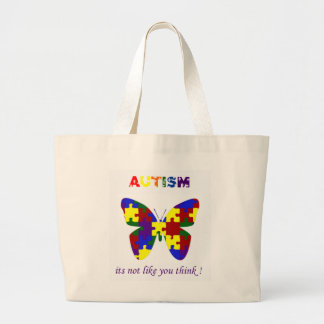 Autism its not like you think bag