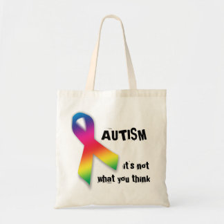 Autism: not what you think bag