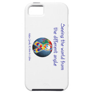 Autism Seeing the world from the different angle iPhone 5 Cases
