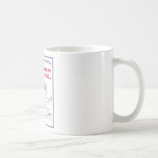 Autism Seriously Funny Merchandise Basic White Mug