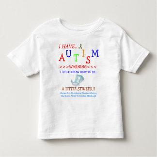 Autism Sometimes Stinks! Toddler T-Shirt